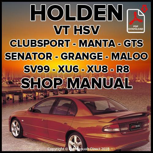 download HOLDEN GTS workshop manual