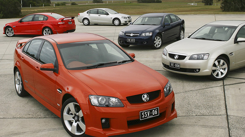 download Holden Commodore VE workshop manual