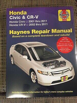 download Honda Civic 96 01 workshop manual