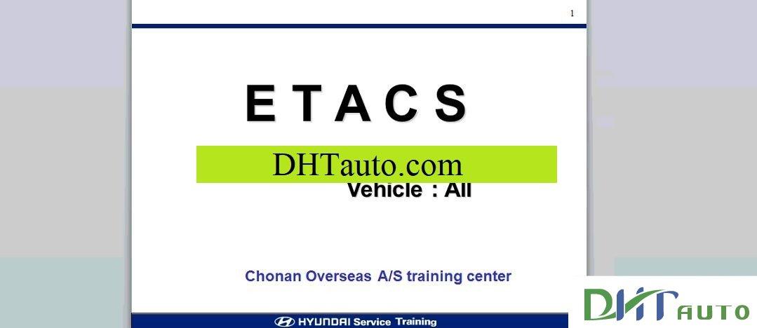 download Hyundai Grandeur XG ETM workshop manual