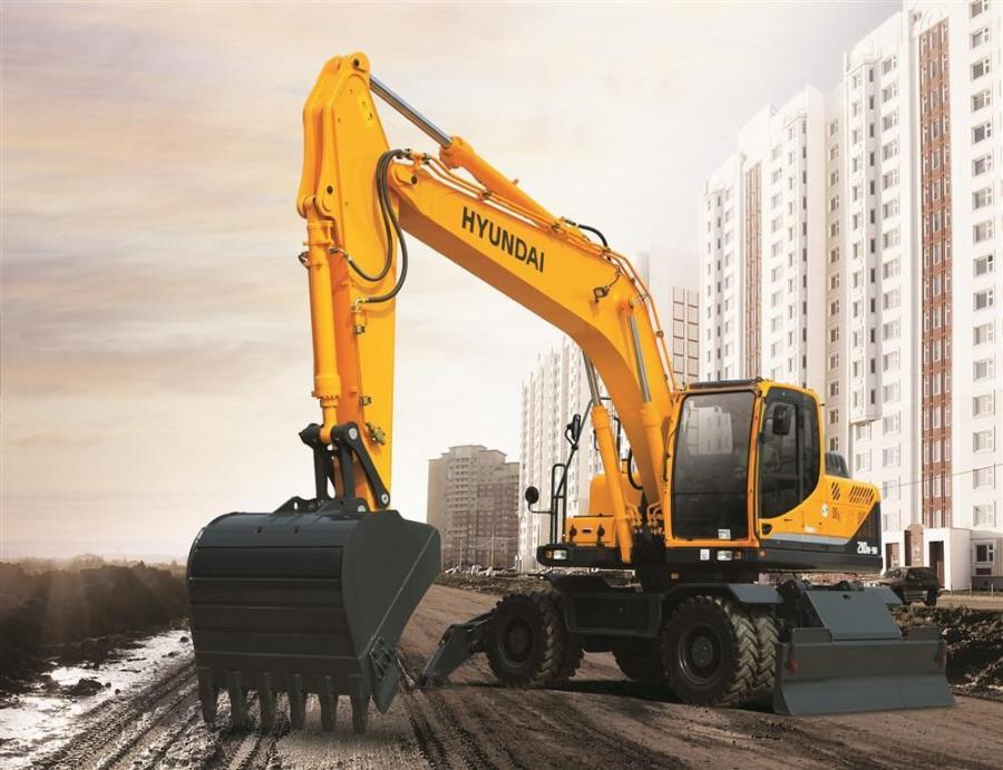 download Hyundai Wheeled Excavators R140W 7 able workshop manual
