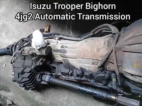 download ISUZU BIGHORN TROOPER workshop manual