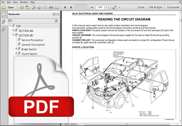 download ISUZU TF 4JA1 4JHI Engine workshop manual