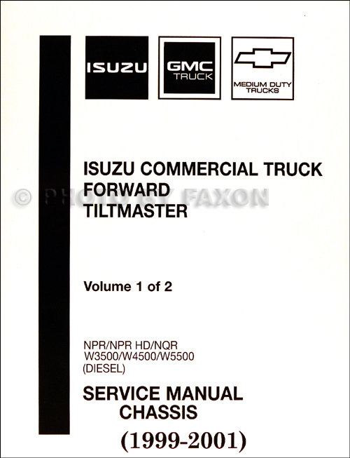 download Isuzu Commercial Truck Forward Tiltmaster Npr Npr Hd Nqr W3500 W4500 W5500 4he1 tc Engine Repa workshop manual