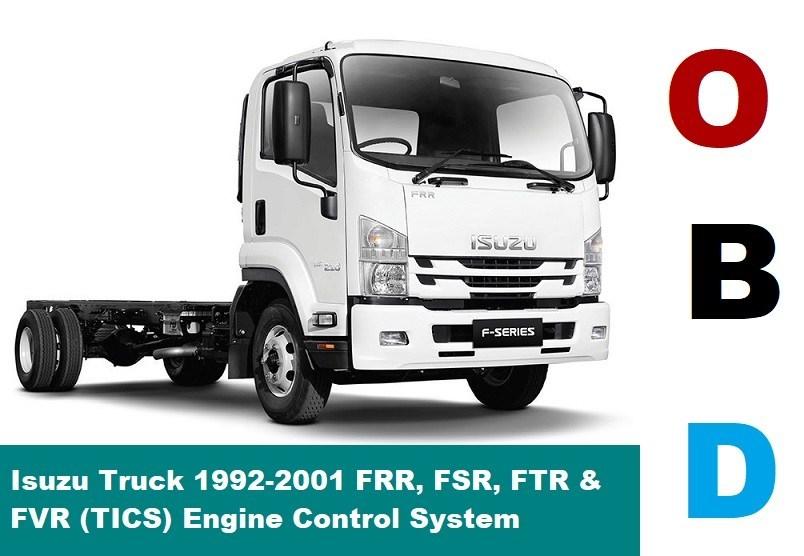 download Isuzu FSR FVR FTR On workshop manual