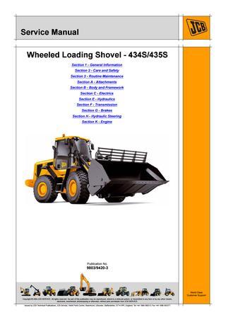 download JCB 410B Wheel Loading Shovel able workshop manual