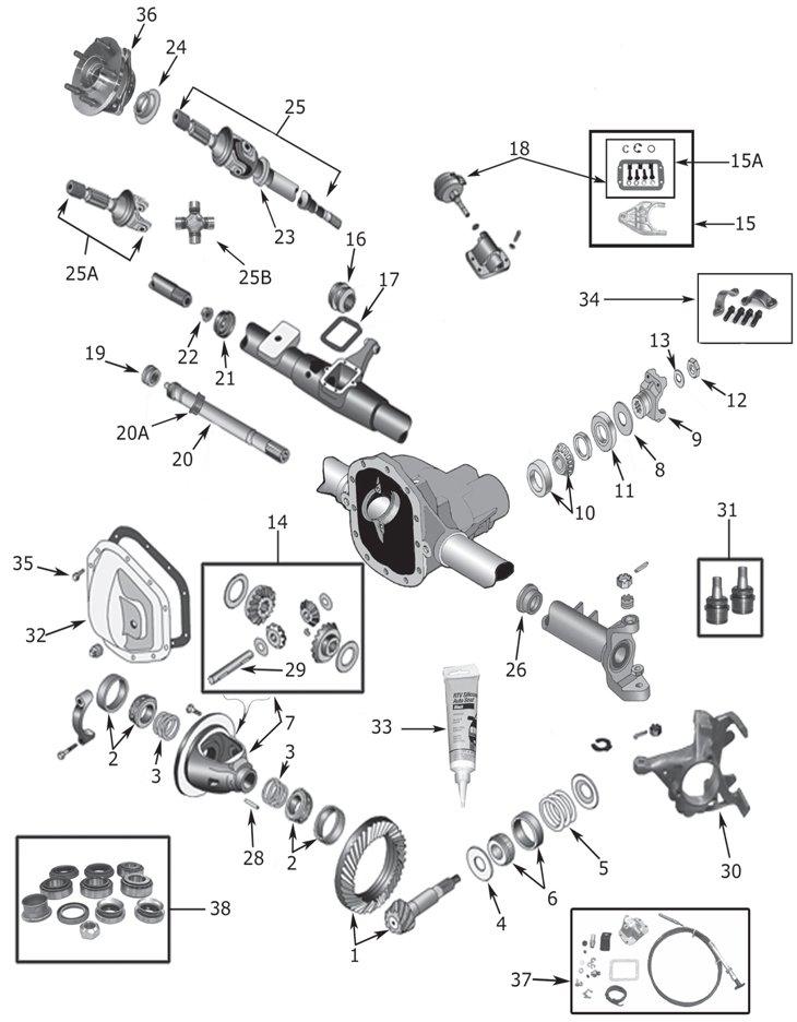 download JEEP XJ YJ CJ SJ workshop manual
