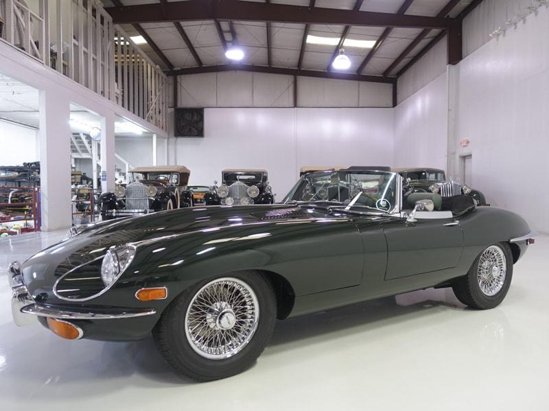 download Jaguar E type Series I II workshop manual