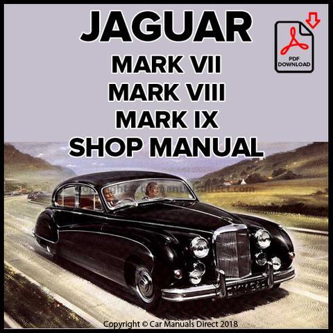 download Jaguar Mark 7 VII workshop manual