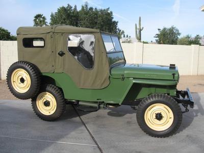 download Jeep CJ 2A 1945 workshop manual