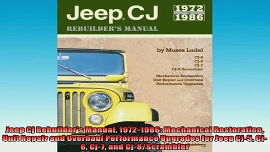 download Jeep CJ 6 workshop manual