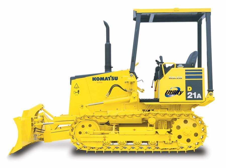 download Komatsu D21S 6A Bulldozer able workshop manual
