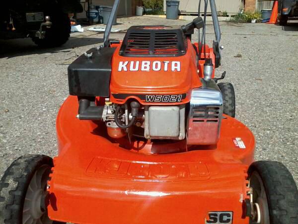 Kubota W5019 Mower Service Repair Manual Pdf  U2013 The