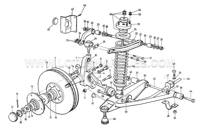 download LOTUS TURBO ESPRIT workshop manual
