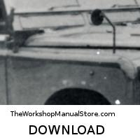 download Land Rover 2 Miltary workshop manual