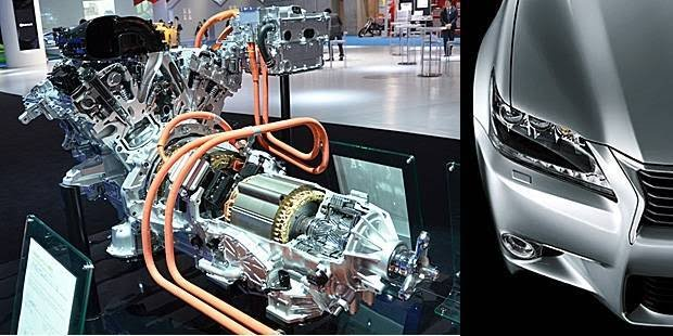 download Lexus GS450H workshop manual