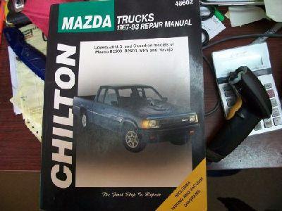 download MAZDA B2200 B2600 NAVAJO workshop manual