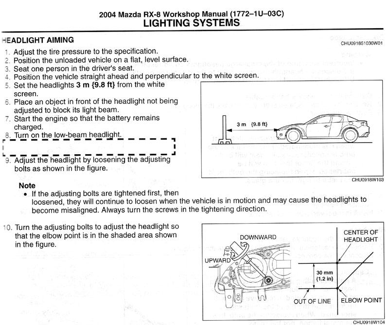 download MAZDA RX 4 workshop manual