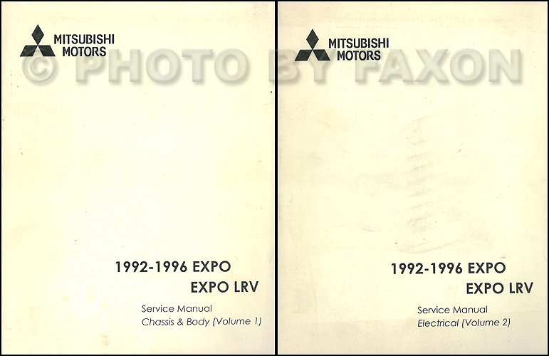 download MITSUBISHI EXPO workshop manual