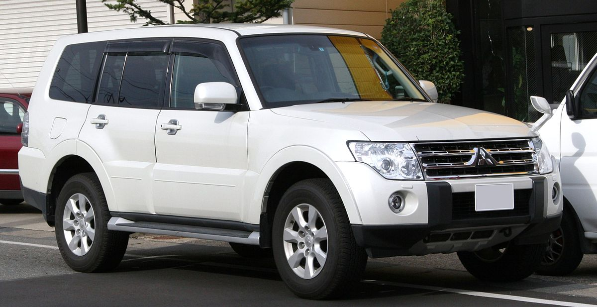 download MITSUBISHI MONTERO workshop manual