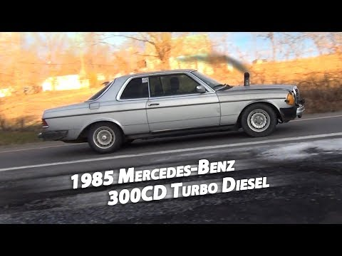download Mercedes 300CD 85 workshop manual