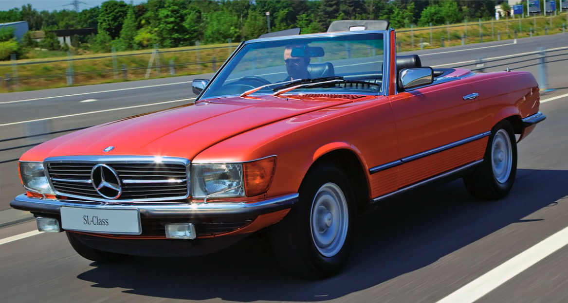 download Mercedes 450 SL workshop manual