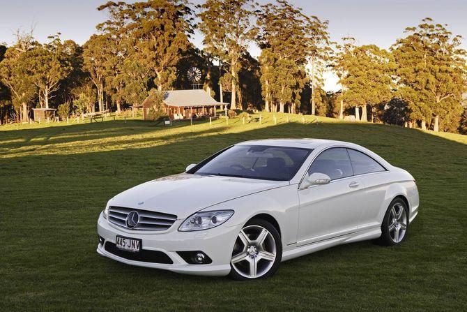 download Mercedes Benz CL Class CL500 Sport workshop manual