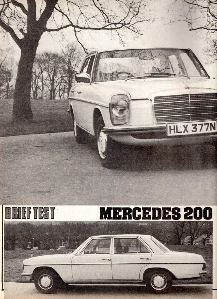 download Mercedes Benz W115 workshop manual