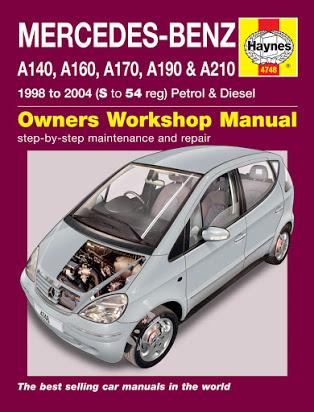 download Mercedes W168 A190 workshop manual