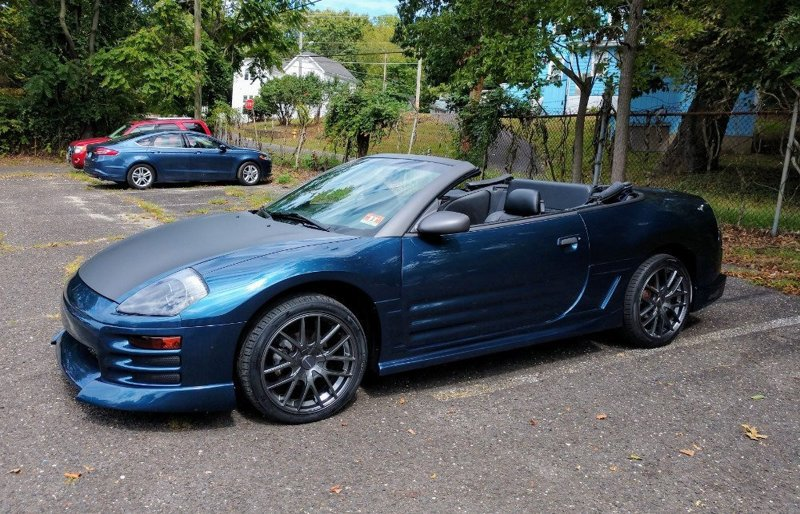 download Mitsubishi Eclipse Eclipse Spyder workshop manual