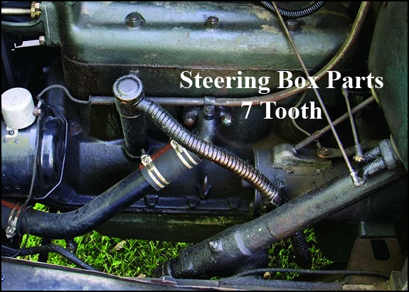 download Model A Ford Steering Worm 7 Tooth Right Hand Drive workshop manual