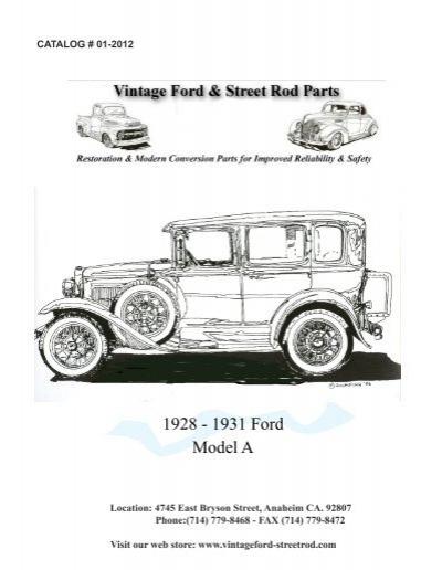 download Model A Ford Terminal Box Lid No Ford Script workshop manual