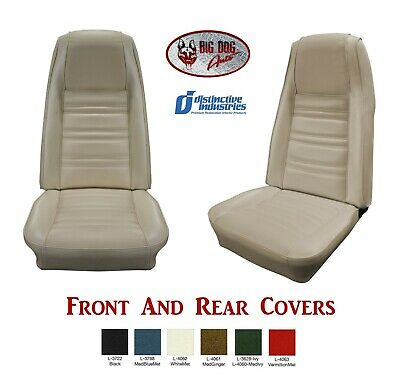 download Mustang Coupe Standard Front Rear Bench Seat Covers Distinctive Industries workshop manual