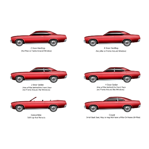 download Mustang Fastback Door Glass Rear Edge Molding Right workshop manual