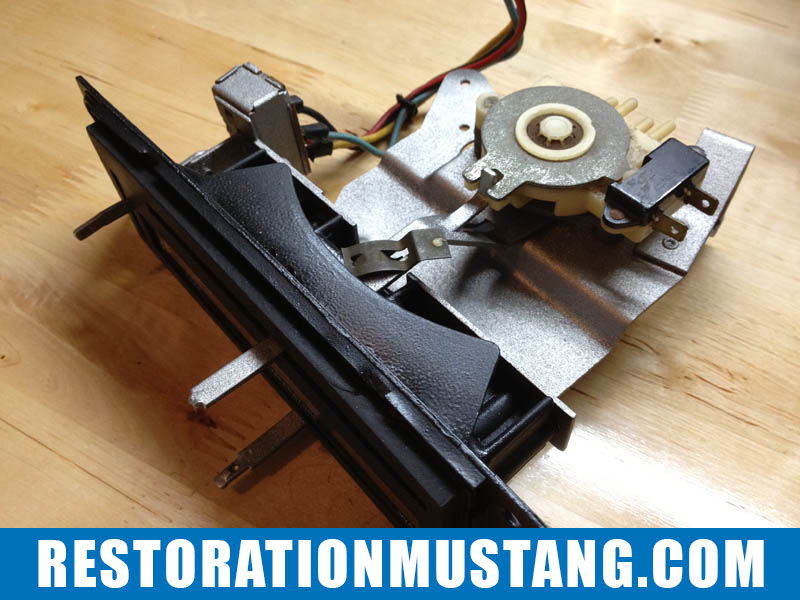 download Mustang Heater Control Assembly workshop manual