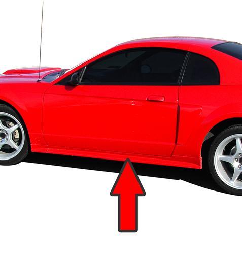 download Mustang Rocker Panel Moulding Left workshop manual