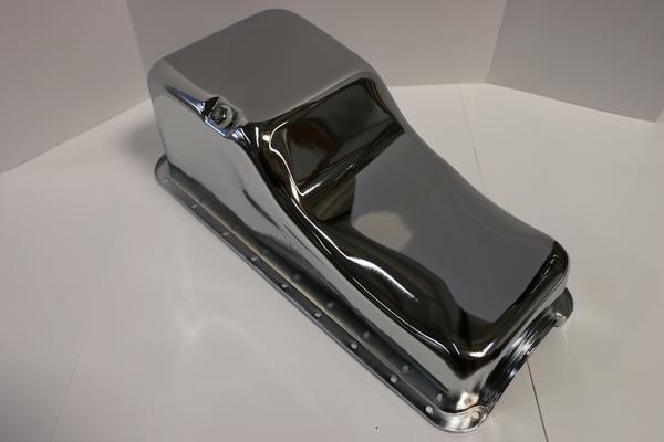 download Oil Pan Chrome 429 460 V8 Ford Mercury workshop manual