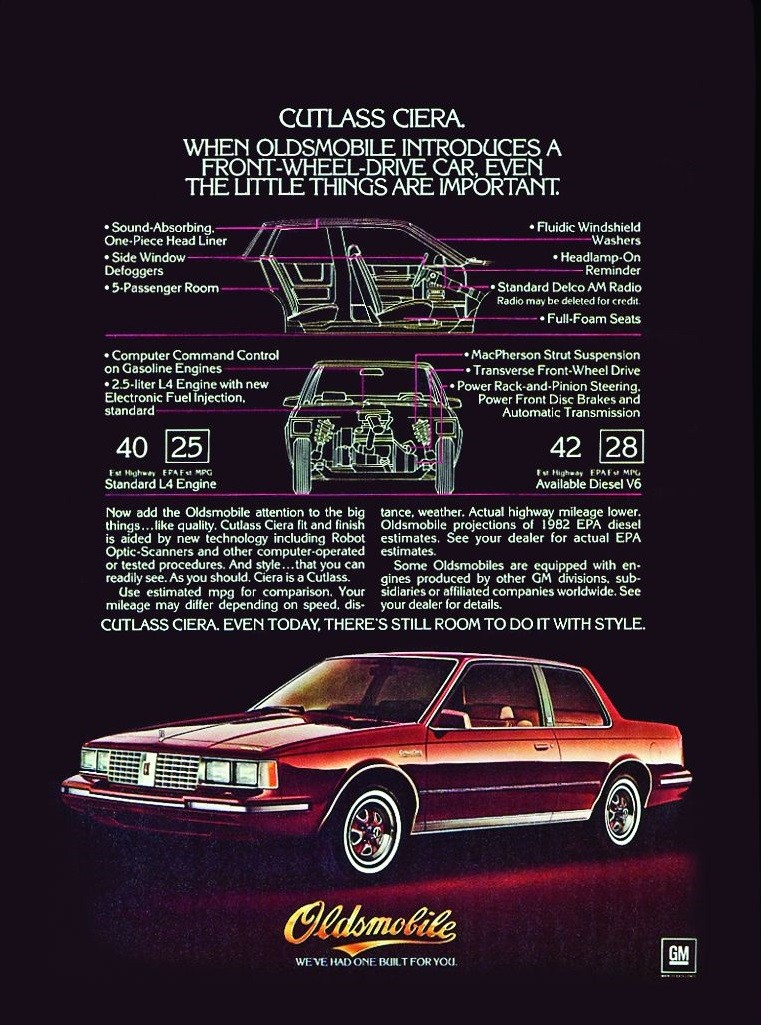 download Oldsmobile Cutlass Ciera workshop manual