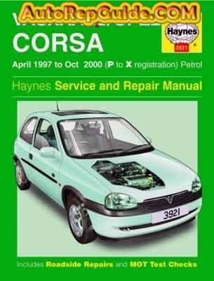 download Opel corsa vauxhall P to X workshop manual