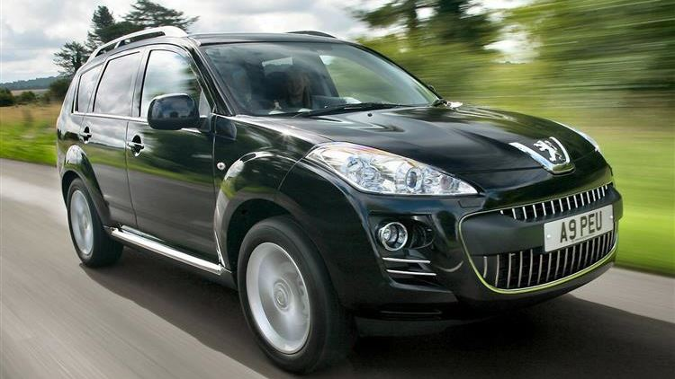 download PEUGEOT 4007 workshop manual