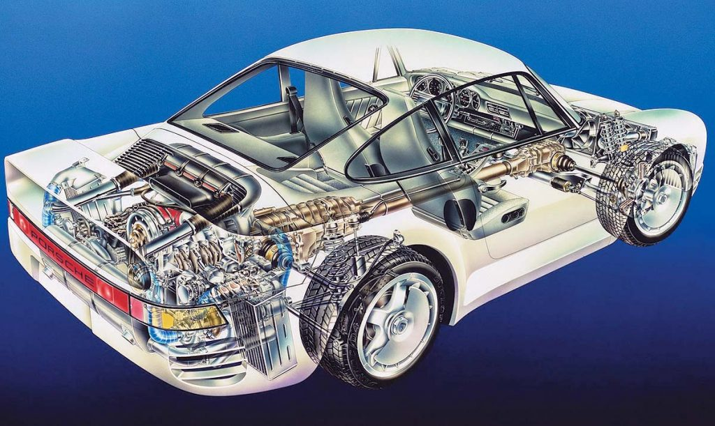 download PORSCHE 959 Parts workshop manual