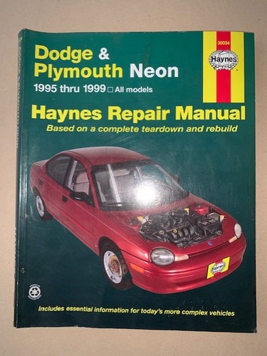 download Plymouth Neon workshop manual