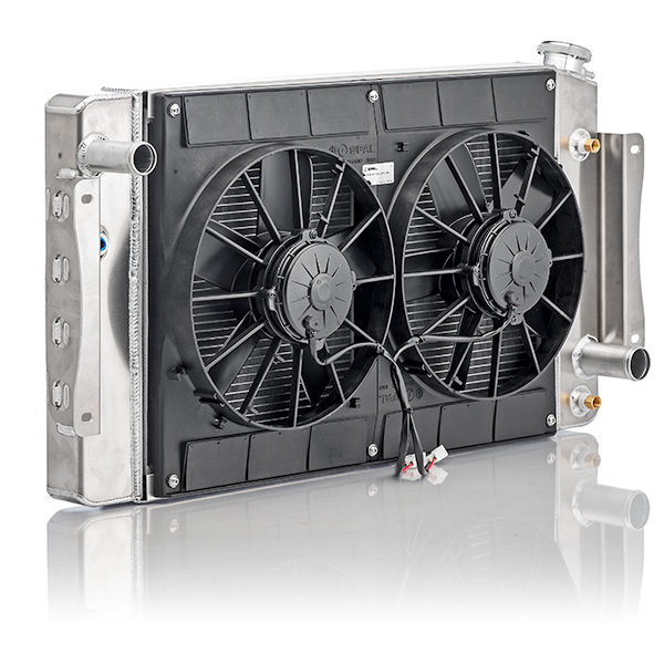 download Radiator Module Passenger Side Inlet Drivers Side Outlet Spal Dual 11 In. Fans workshop manual