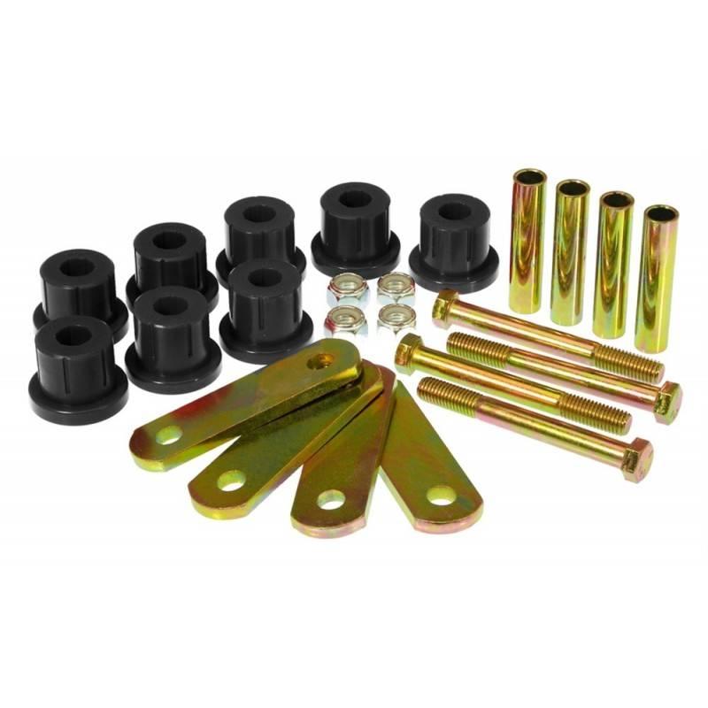 download Rear Spring Eye Shackle Polyurethane Bushing Kit Heavy Duty Multi Leaf Springs 81 workshop manual