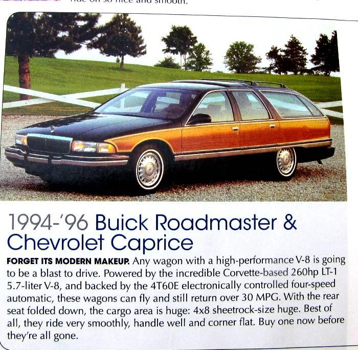 download Roadmaster ESTATE WAGON workshop manual