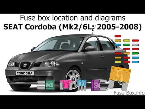 download SEAT CORDOBA MK2 workshop manual