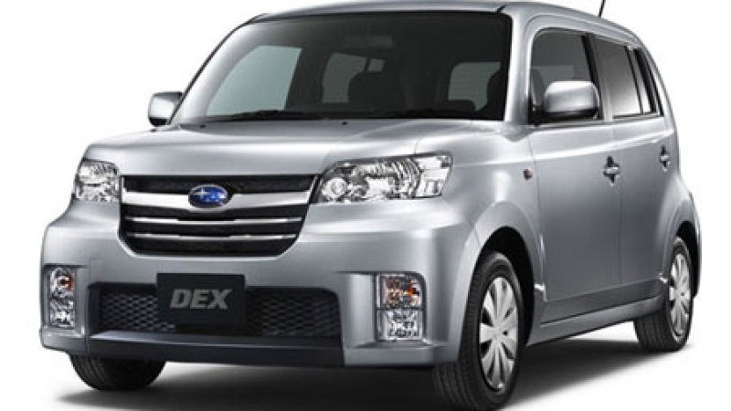 download SUBARU DEX workshop manual