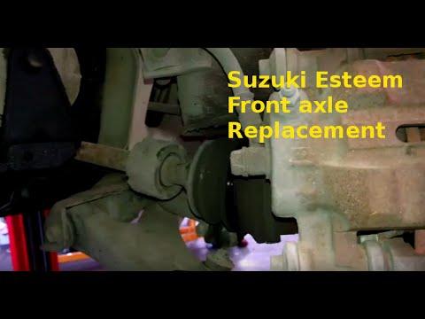 download SUZUKI ESTEEM workshop manual