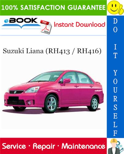 download SUZUKI SWIFT RS413 RS415 RS416 workshop manual