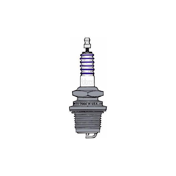 download Spark Plug Motorcraft Type 4 Cylinder FordB V8 Ford workshop manual